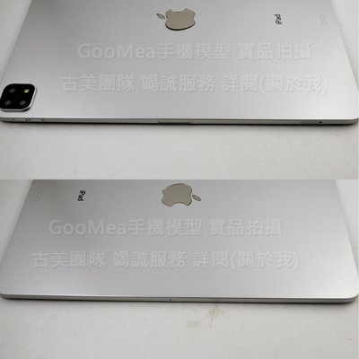 GooMea模型 電鍍塑膠 平板iPad Pro 12.9吋 2019三鏡頭版Dummy仿製上交拍戲裝潢樣品裝飾道具擺設