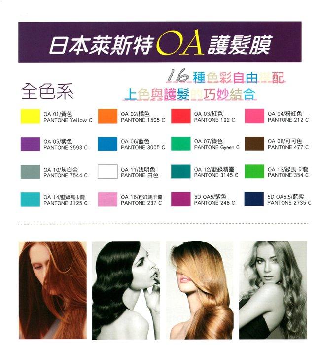 日本彩色護髮膜/萊斯特馬卡龍護髮膜 日本護髮膜