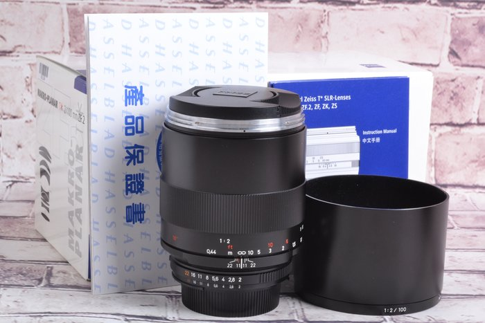 【品光攝影】 Carl Zeiss 卡爾蔡司 100mm F2 ZF.2 For NIKON GA#63134
