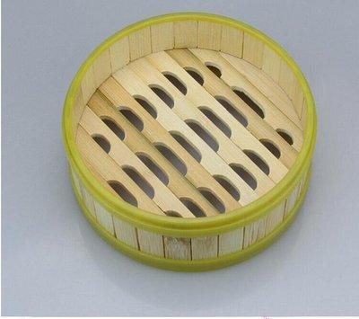 塑料包邊 竹制蒸籠 竹蒸籠 竹籠屜 小蒸籠 家用 籠屜 膠邊 蒸籠屜