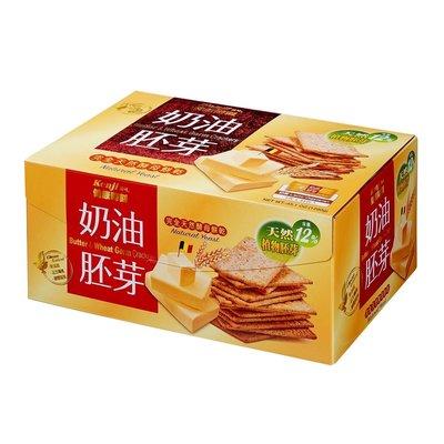 卓佑小舖♥健康時刻奶油胚芽餅乾 28.5公克 45包 Kenji Butter Crackers