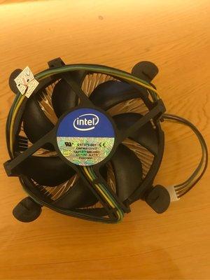 二手良品 中古 CPU INTEL原廠風扇1155腳位 CPU散熱器 LGA1155  G3900用的 鴻海代工