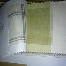 【JEN18】《高級有質感國外進口的窗簾布料》整本│Robert Allen│linen sheers│南非製造 夏季格