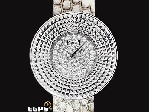 【永久流當品】 PIAGET 伯爵錶 Limelight Round G0A30078 原鑲鑽面 OQT6538