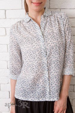 apt.3R Chinti & Parker Sketchy白色星星長袖襯衫