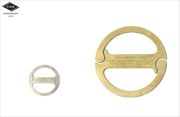 WaShiDa【CK02】CDW - DUKE Key Ring / White 經典 圓型 鑰匙圈 聖誕 小物
