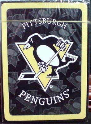 龍廬-出清撲克牌可收藏~冰球曲棍球隊PITTSBURGH PENGUINS匹茲堡企鵝隊