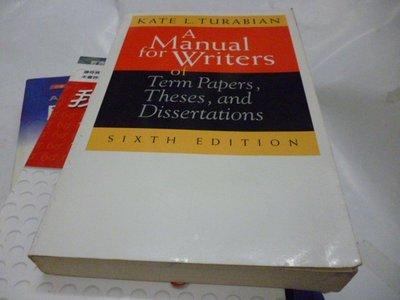 買滿500免運 / 崇倫《A Manual for Writers of Term_Turabian》  ISBN: 9