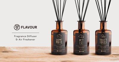 美國東村【FLAVOUR】香氛擴香 150ml 適合毛小孩的家庭使用