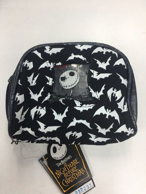怪誕城之夜 化妝袋 銀包 錢包 散子包 Nightmare Before Christmas Jack Make up bag wallet
