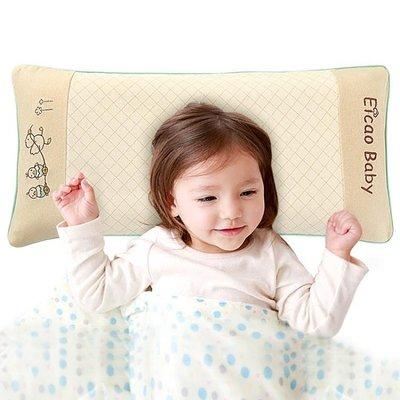 寶寶枕頭小孩幼兒園通用枕頭