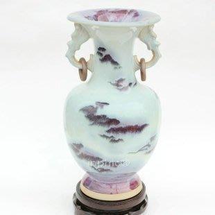 INPHIC-ZF-H021 景德鎮 陶瓷器 鈞瓷雙耳花瓶 工藝品 裝飾擺飾 創意