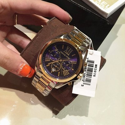 Michael Kors 男女帥氣海報款手錶三眼計時大錶盤MK5606 5976