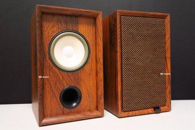 全新 4吋復古全音域發燒喇叭(內崁式音箱/雙磁/泡棉懸邊)12mm厚密集板