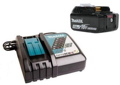 【欣瑋】 MAKITA 牧田 電池組 18V  加充電器 DC18RC BL1850B BL1850 單5.0 電池包