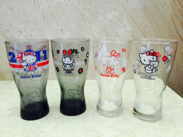 全新 7-11點數 Hello Kitty 40週年 經典玻璃曲線杯 玻璃杯 杯子彰化自取