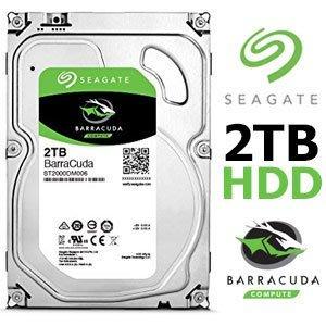 【鳥鵬電腦】Seagate 希捷 ST2000DM008 BarraCuda 新梭魚 2TB 3.5吋內接式硬碟 2T