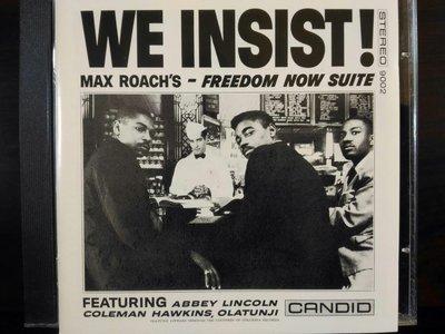 Max Roach ~ We Insist等四張專輯。