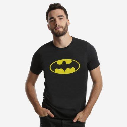夏季動漫卡通batman蝙蝠俠圓領短袖t卹男衣服