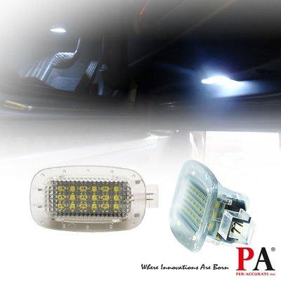 【PA LED】BENZ 賓士 解碼 18晶 LED 車門燈 照地燈 W216 W221 不亮故障燈 CANBUS