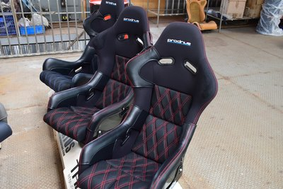 BRIDE ZETA 賽車椅皮革防磨保護套 一組3件式 保護椅子避免磨損