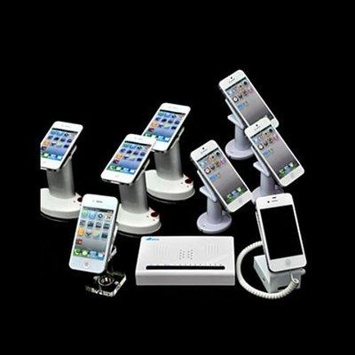 手機防盜器 拖 路展示架 夷希微體驗支架真機自動布防充電報警器