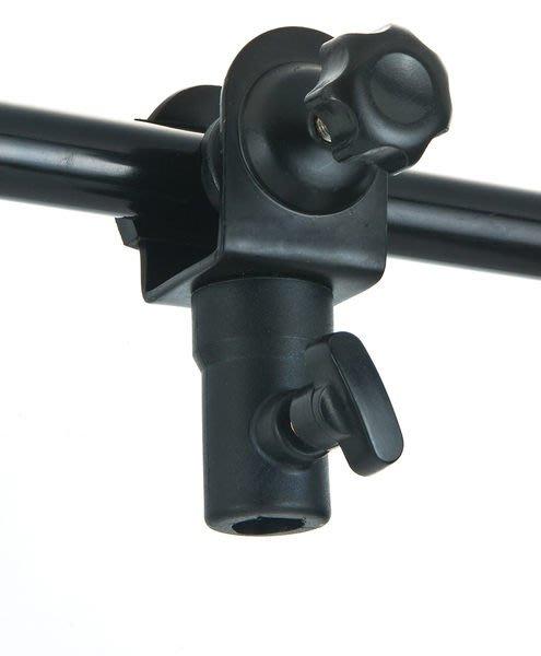 呈現攝影-C型夾附母座 燈架夾具 萬用夾 背景夾 固定夾 攝影棚/檯 相機 燈腳架 雨傘夾※