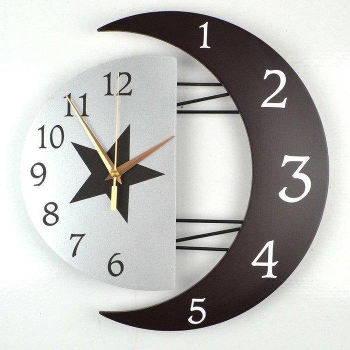 麥麥部落 掛鐘現代裝飾創意掛鐘靜音客廳鐘錶個性簡約式式MB9D8