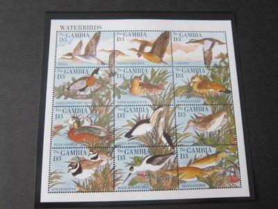【雲品】岡比亞Gambia 1995 Sc 1617 鳥禽Bird MNH