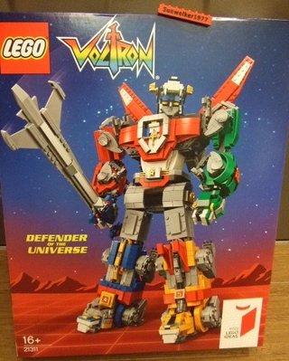 【積木1977】樂高Lego- IDEAS 全新未拆 21311 聖戰士/百獸王/五獅合體 (Voltron)