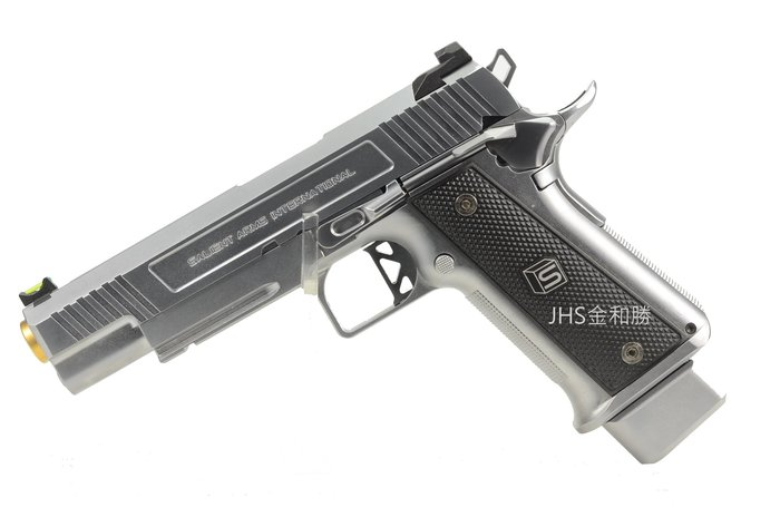 JHS((金和勝 槍店))免運費 WE SA-DS0101 HI-CAPA 5.1-SAI銀 瓦斯手槍 4846