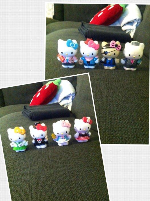 hello kitty公仔 角色扮演 玩偶 卡通 日本 7-11 麥當勞  全家 集點 贈品 收藏品 紀念品 卡漫 動漫