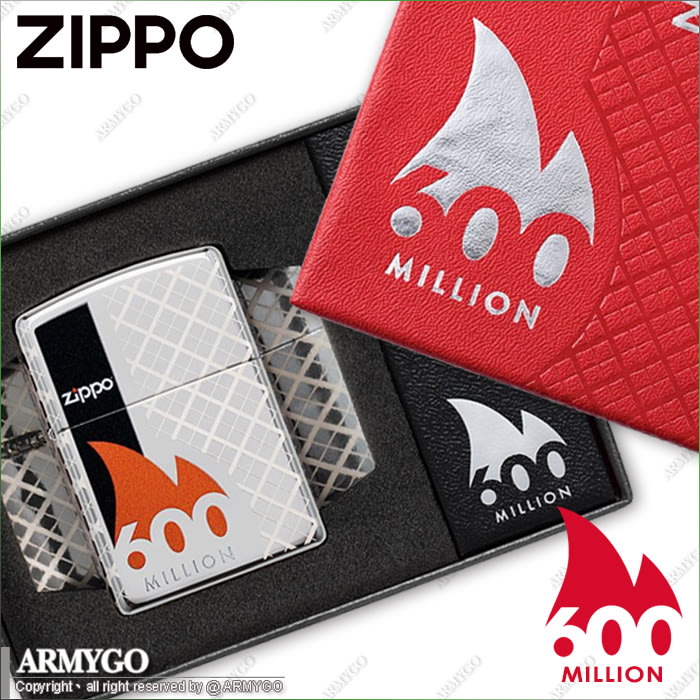 【ARMYGO】ZIPPO原廠打火機- 慶祝生產第6億顆珍藏限量版 No.49272