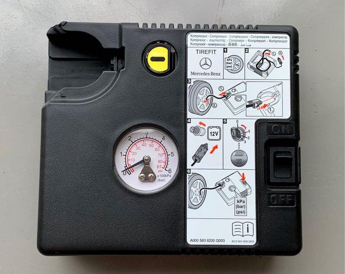 BENZ 原廠打氣機 補胎劑 A、B、C、E、S、GLC、CLA、GLA、GLE,料號:A0005838200