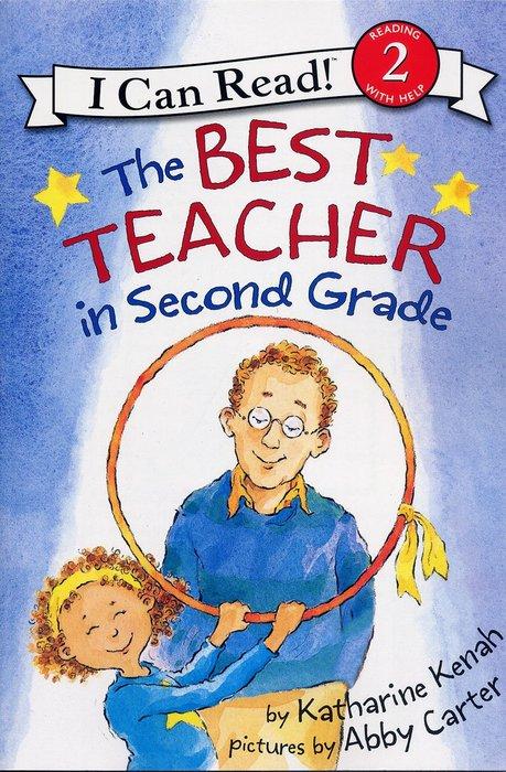 *小貝比的家*THE BEST TEACHER IN SECOND GRADE / L2/平裝書+CD/3~6歲