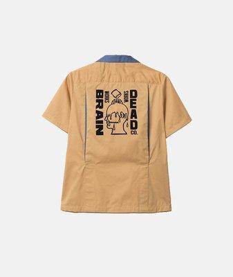 (A.B.E)BRAIN DEAD BOWLING SHIRT 襯衫 兩色