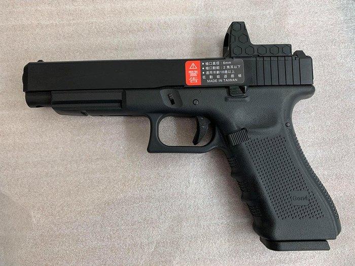 JHS((金和勝 槍店))免運費 WE 黑色 G34 Gen4 RMR版 瓦斯手槍 4825
