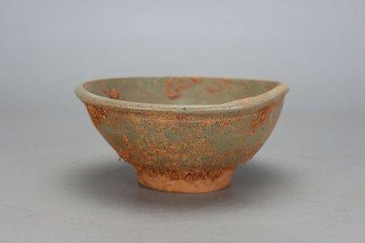 ㊣姥姥的寶藏㊣大清咸豐出土龍泉碗殘次品 古玩 古董 民間收藏