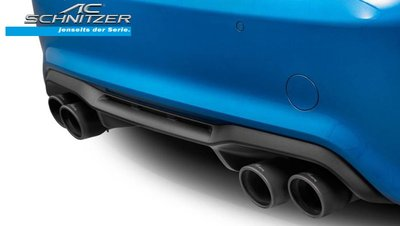 【樂駒】AC Schnitzer BMW F87 M2 Competition 尾飾管 黑色 改裝 排氣管 精品