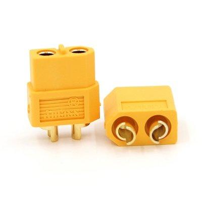 【女兒郎百貨城】Amass XT60插頭 公母插頭航模車船大電流連接器電池電調接頭