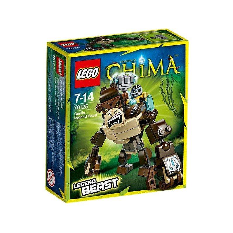 好好玩樂高 LEGO 70125 樂高積木 CHIMA 神獸傳奇系列 猿之神獸 7Y 106片
