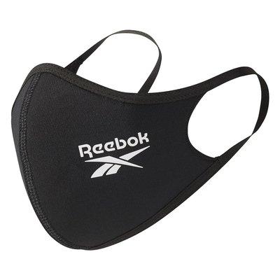 Reebok 透氣環保 口罩 WASH. DRY. REUSE.字樣可100%洗滌並重複使用
