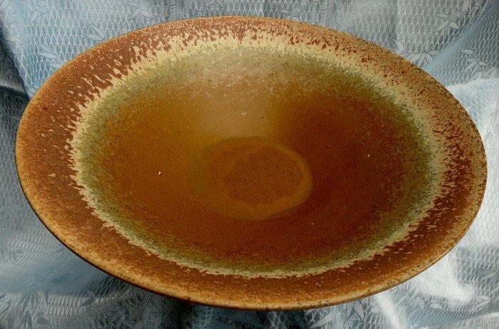 紫色小館4-----大陶盤(高7公分.直徑31公分)