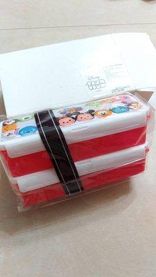 239含運出清~TSUM TSUM 雙層樂活餐盒~新光三越贈品