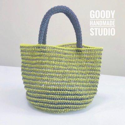 《輕盈⼿拿提包》材料包 (可選色)