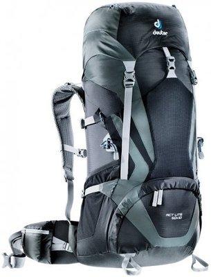 【大山野營】送背包套 德國 deuter 3340315 ACT LITE 50+10L 拔熱透氣登山背包 登山袋