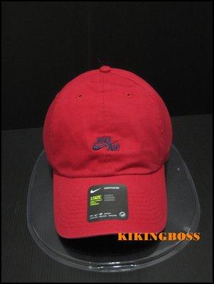 【喬治城】 NIKE  U NK AIR H86 CAP 運動帽(紅色)891289687