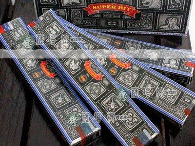 @_薩谷娜民族風 : SUPER HIT印度線香_12星座_15g_單扁盒_下標區