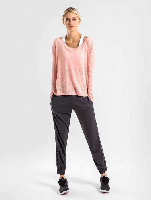 MAXIMUM 簡約風格 寬鬆罩衫 速乾上衣 運動上衣 瑜珈上衣 運動內衣