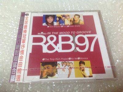 ~拉奇音樂~ R&B97 有BMG唱片封條 全新未拆封。唐妮布蕾斯頓,TLC,美聲姊妹合唱團,全心全意合唱團,演唱,
